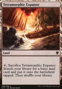 Terramorphic Expanse - Commander 2017