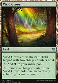 Vivid Grove - Commander 2017