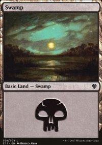 Swamp 1 - Commander 2017