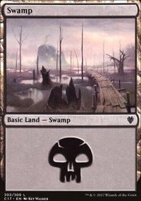 Swamp 3 - Commander 2017