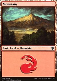 Mountain 1 - Commander 2017