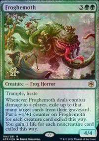 Froghemoth - Prerelease Promos
