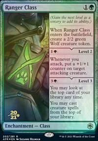 Ranger Class - Prerelease Promos