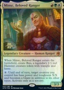 Minsc, Beloved Ranger - Prerelease Promos