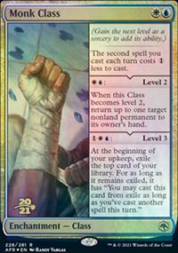 Monk Class - Prerelease Promos