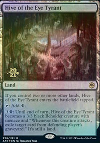 Hive of the Eye Tyrant - Prerelease Promos