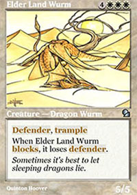 Elder Land Wurm - Masters Edition
