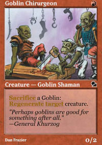 Goblin Chirurgeon - Masters Edition