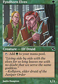 Fyndhorn Elves - Masters Edition
