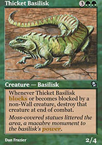 Thicket Basilisk - Masters Edition
