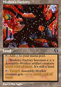 Mishra's Factory - Masters Edition
