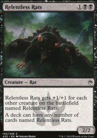 Relentless Rats - Masters 25