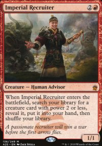 Imperial Recruiter - Masters 25