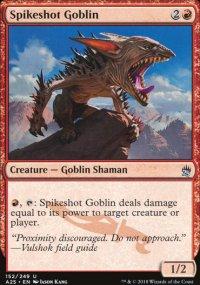 Spikeshot Goblin - Masters 25