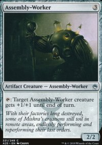 Assembly-Worker - Masters 25
