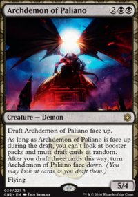 Archdemon of Paliano - Conspiracy: Take the Crown
