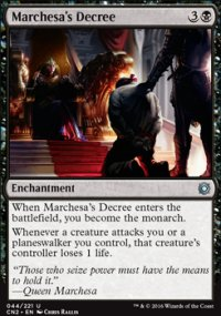 Marchesa's Decree - Conspiracy - Take the Crown
