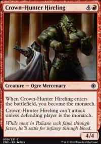 Crown-Hunter Hireling - Conspiracy: Take the Crown