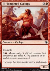 Ill-Tempered Cyclops - Conspiracy - Take the Crown