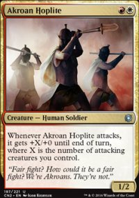Akroan Hoplite - Conspiracy - Take the Crown