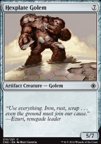 Hexplate Golem - Conspiracy - Take the Crown