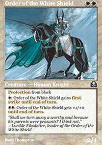 Order of the White Shield - Masters Edition II