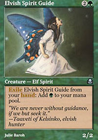 Elvish Spirit Guide - Masters Edition II