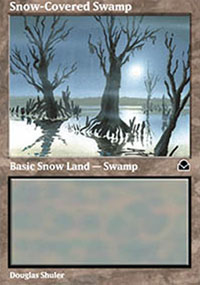 Snow-Covered Swamp - Masters Edition II