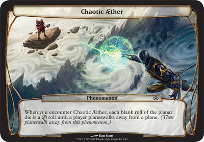 Chaotic Aether - Planechase 2012