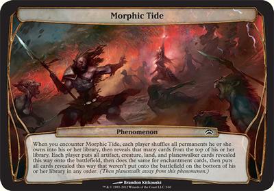 Morphic Tide - Planechase 2012