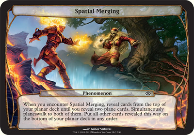Spatial Merging - Planechase 2012