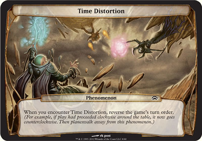 Time Distortion - Planechase 2012