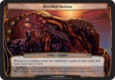 Bloodhill Bastion - Planechase 2012