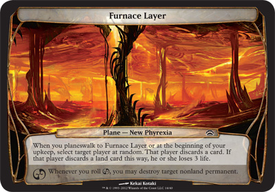 Furnace Layer - Planechase 2012