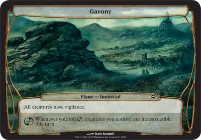 Gavony - Planechase 2012