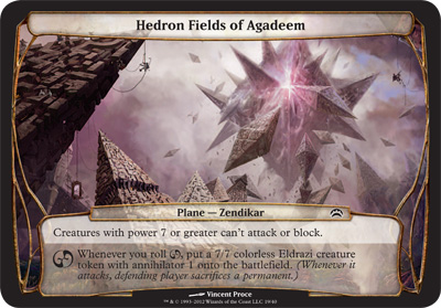 Hedron Fields of Agadeem - Planechase 2012