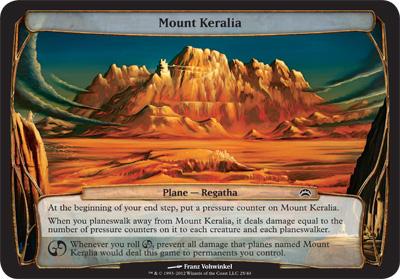 Mount Keralia - Planechase 2012