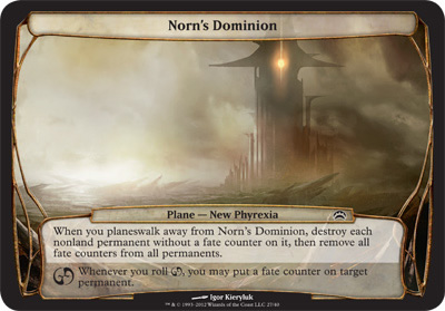 Norn's Dominion - Planechase 2012