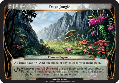 Truga Jungle - Planechase 2012
