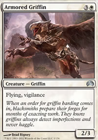 Armored Griffin - Planechase 2012 decks