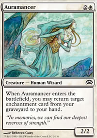 Auramancer - Planechase 2012 decks