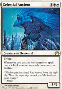 Celestial Ancient - Planechase 2012 decks