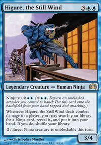 Higure, the Still Wind - Planechase 2012 decks