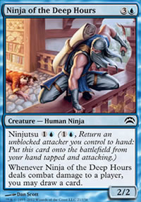 Ninja of the Deep Hours - Planechase 2012 decks
