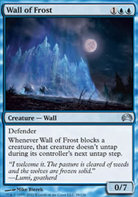 Wall of Frost - Planechase 2012 decks