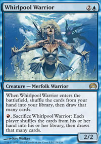 Whirlpool Warrior - Planechase 2012 decks
