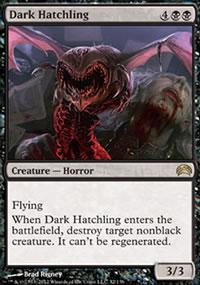 Dark Hatchling - Planechase 2012 decks