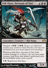 Ink-Eyes, Servant of Oni - Planechase 2012 decks