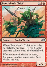 Beetleback Chief - Planechase 2012 decks