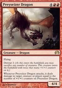 Preyseizer Dragon - Planechase 2012 decks